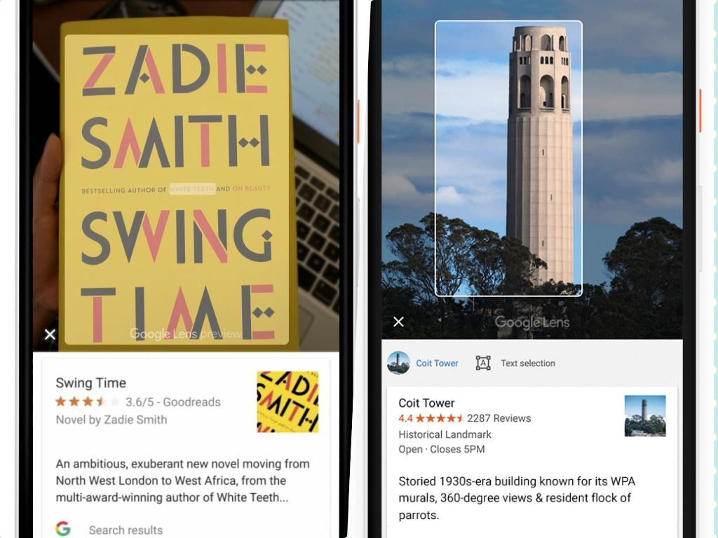 Pesquisa Google Lens Livro e Viagem