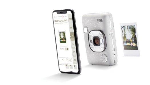 Uma câmara que é também uma impressora