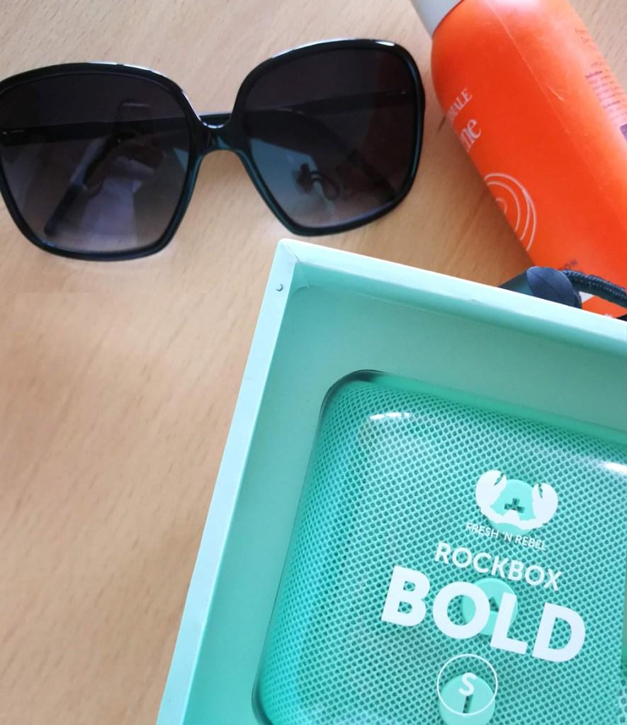 Coluna Rockbox Bold S, da Fresh'n'Rebel