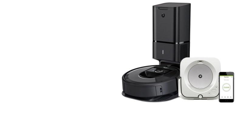 Roomba i7+ e Braava Jet M6, da iRobot