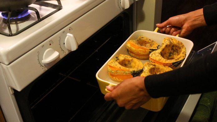 Quinoa Stuffed Baked Squash Recipe