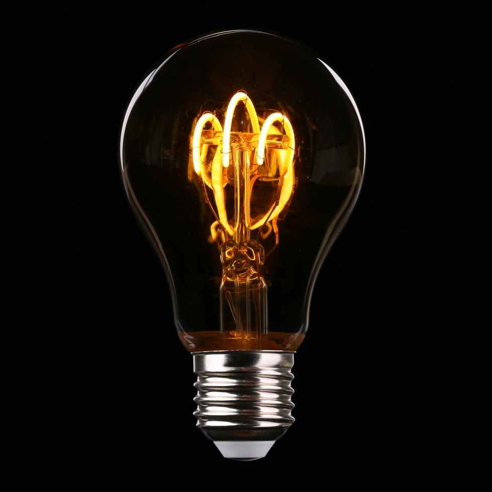 bulb close up electricity energy