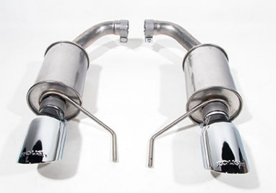 2015 2020 mustang 3 7l v6 and 2 3l ecoboost roush exhaust kit round tip 304ss highway performance