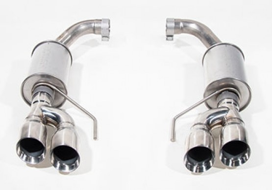 2018 2020 mustang 5 0l gt roush axle back exhaust kit