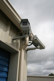 Surveillance cameras ensure the security of your property