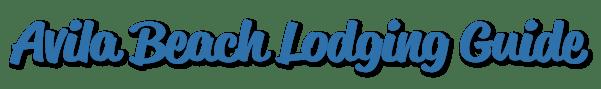Avila Beach Lodging Guide