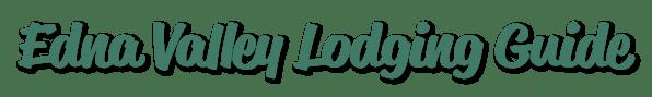 Edna Valley Lodging