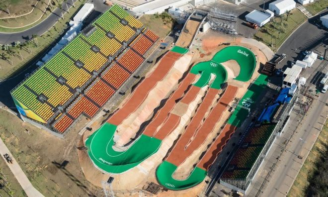 BMX cycling races rio 2016