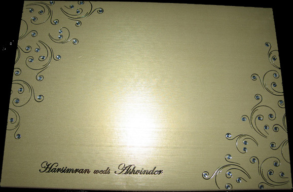 Nicest Wedding Invitation Card ever (2/3)