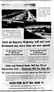 June 8 1950-Ad for the Highway