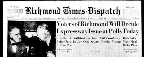 Nov. 6, 1951, Front Page