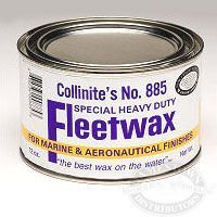 Collinite Original Heavy Duty Paste Fleetwax No. 885, 12 oz. Can
