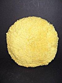 Yellow Twisted 40/60 Wool/Acrylic Polishing Pad