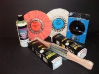 "D C Super Shine Standard Kit with 8"" Buffing Wheels (Extra Buff)"