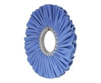10″ Blue Airway Buffing Wheel (Class 4 - 16 ply, 3 Pack)