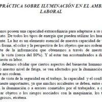GUÍA PRÁCTICA SOBRE ILUMINACIÓN EN EL AMBIENTE LABORAL-SRT-RES 084/12-ARGENTINA