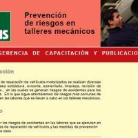 PREVENCIÓN DE RIESGOS EN TALLERES MECÁNICOS