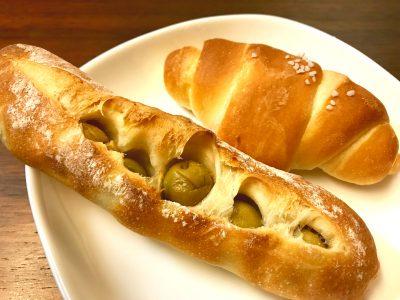 ロリビエと塩パン
