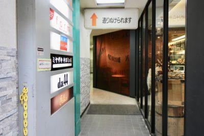メロンパン屋入口