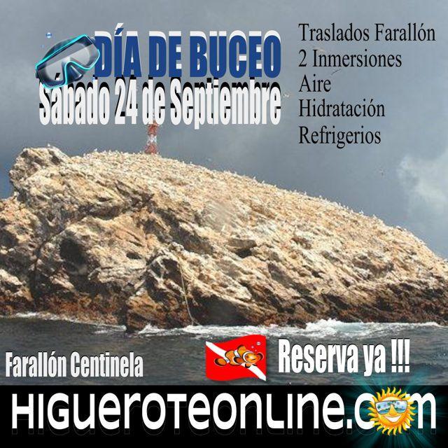 Submarinismo o buceo en Higuerote