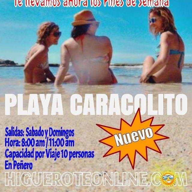 Te llevamos a Playa Caracolito en Higuerote