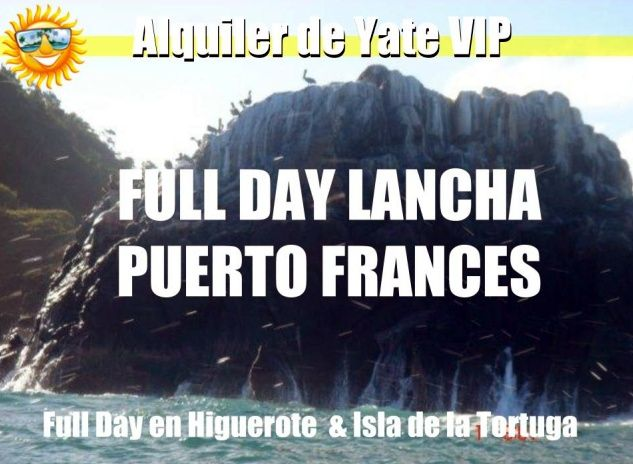 Full day en Puerto Francés Higuerote en Lancha
