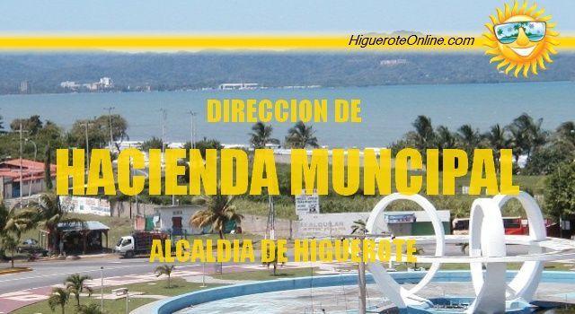 Dirección de Hacienda Municipal de la Alcaldía de Higuerote