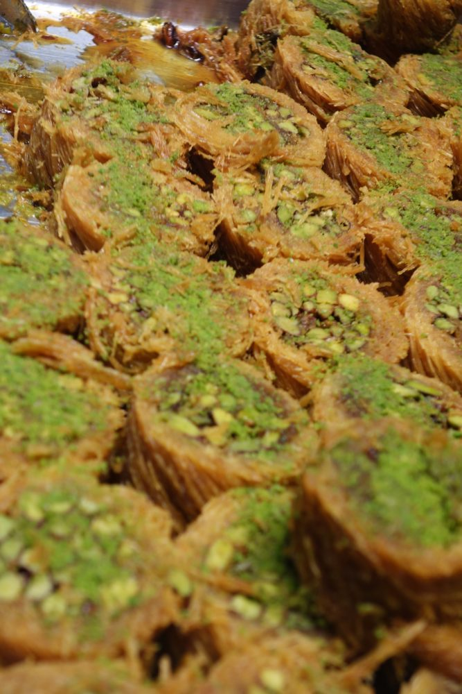 Baklava - how sugar can pretend to be nuts