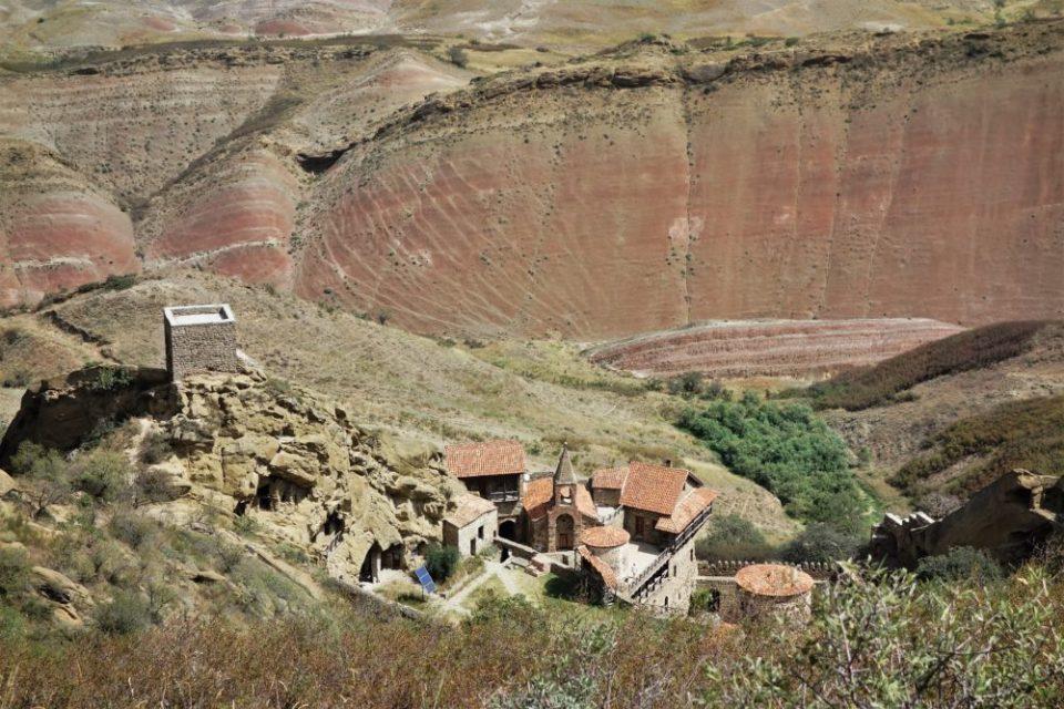 The David Gareja monastery complex.