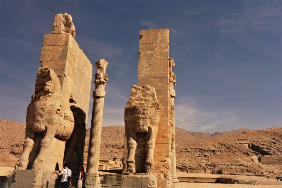 In Persepolis, one of the most important Persian cities, you can smell the ancient, the historic and the serious in the air.