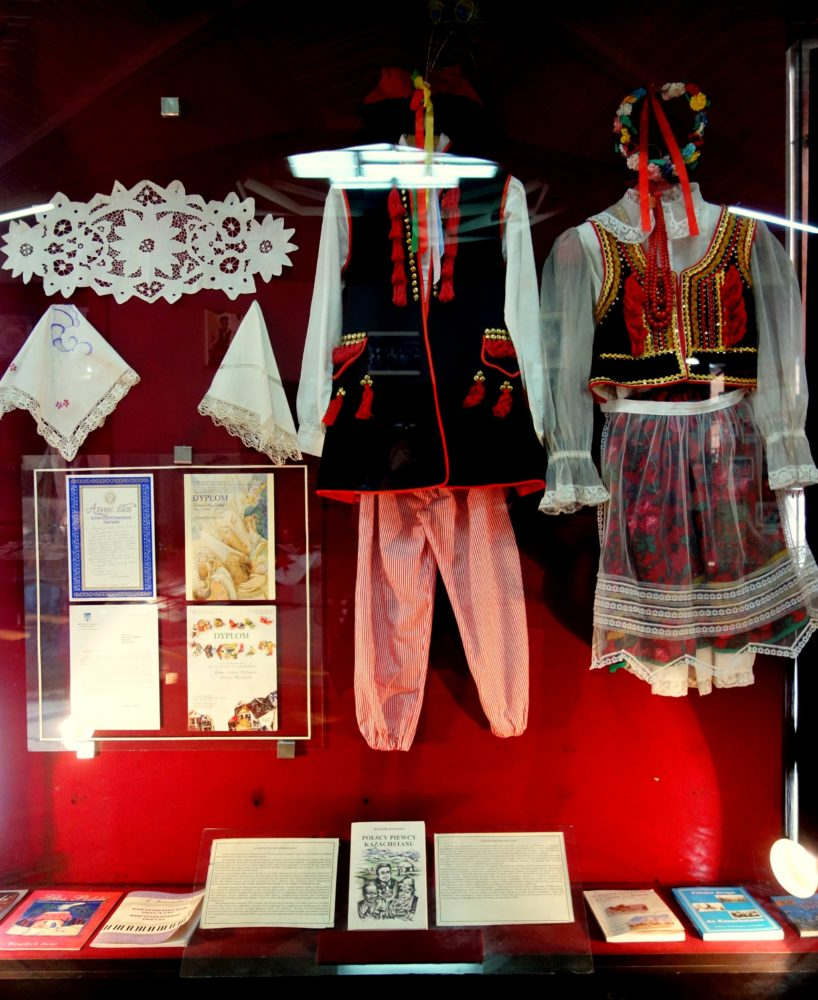 And Polish national clothes from Krakow which we found in the National Museum :)