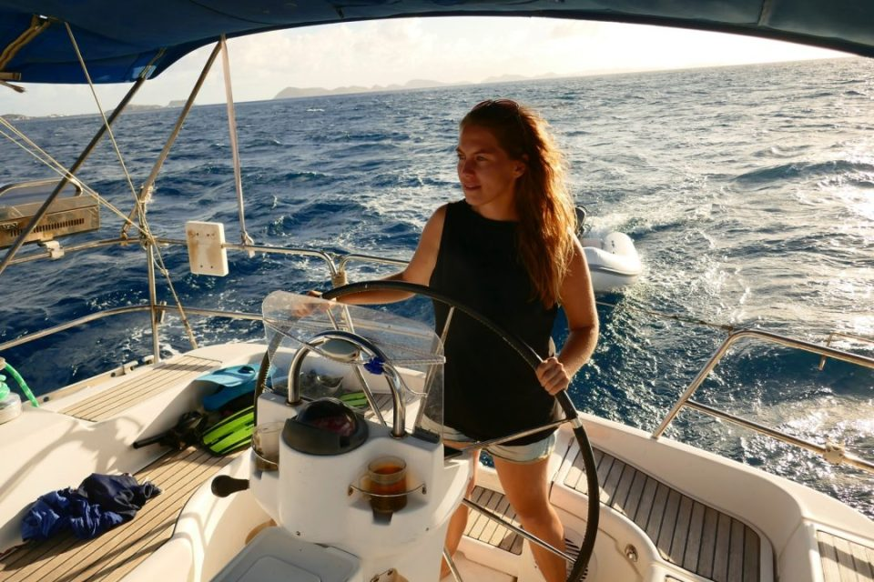 jachtostop z karaibów do europy