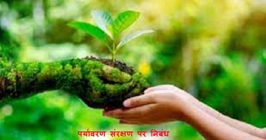 पर्यावरण संरक्षण पर निबंध   Environment Conservation Essay in Hindi