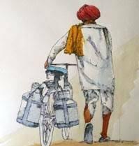 Essay On Milkman In Hindi