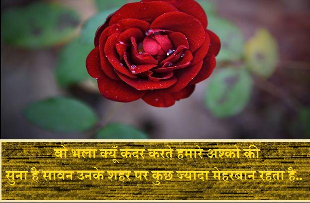 Sawan Ka Mahina Shayari In Hindi
