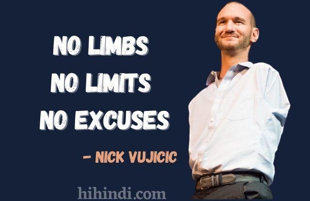 Nick Vujicic motivational quotes