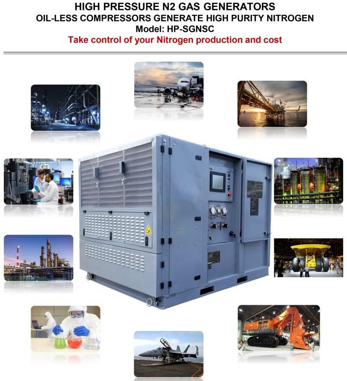 Marine Nitrogen Generator Pure Nitrogen Emergency Power