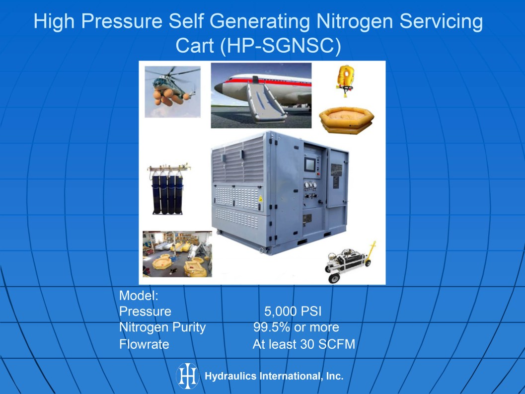 Nitrogen Self Generating Service Carts (MRO)