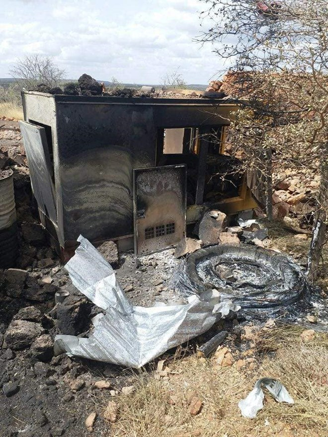 Gambar Contoh Rumah Minimalis Cluster  kdf killed hormuud telecom workers and destroyed