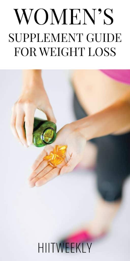 The 3 very best weight loss supplements for women. These are the best supplements you can take to help accelerate your weight loss.