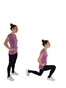 lunges butt workout