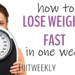 Find out how to lose weight fast with these easy to follow steps. Lose weight fast in one week.