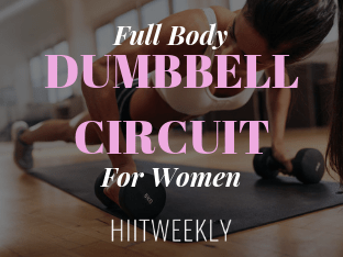 full body dumbbell circuit