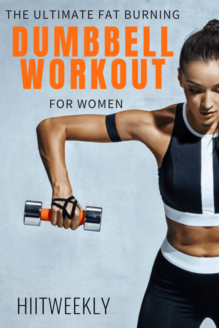 20 Minute Full Body Dumbbell Circuit For Women. Dumbbell Workout For Weight Loss. Full Body Dumbbell Workout For women