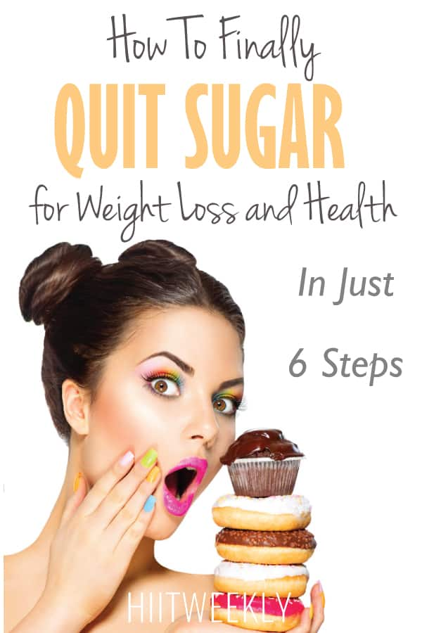 how to quit sugar in 6 steps and feel great! Sugar could be the reason you cant