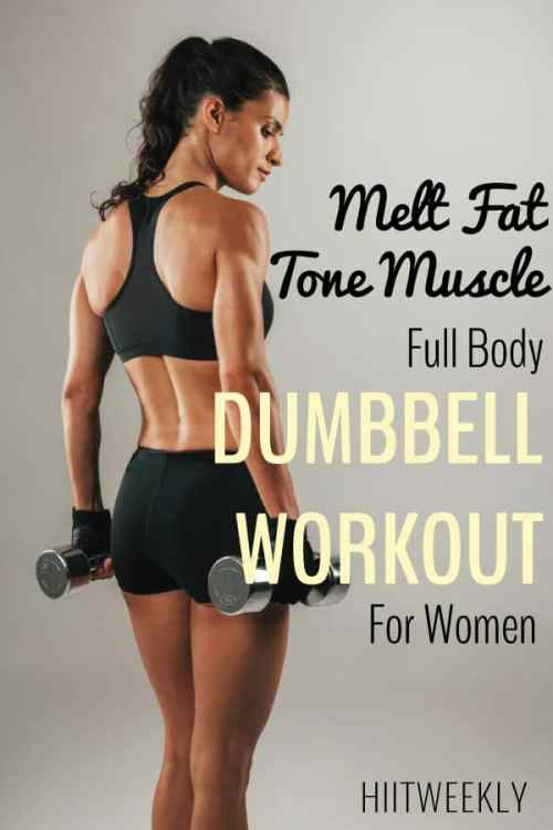 full body dumbbell workout for women