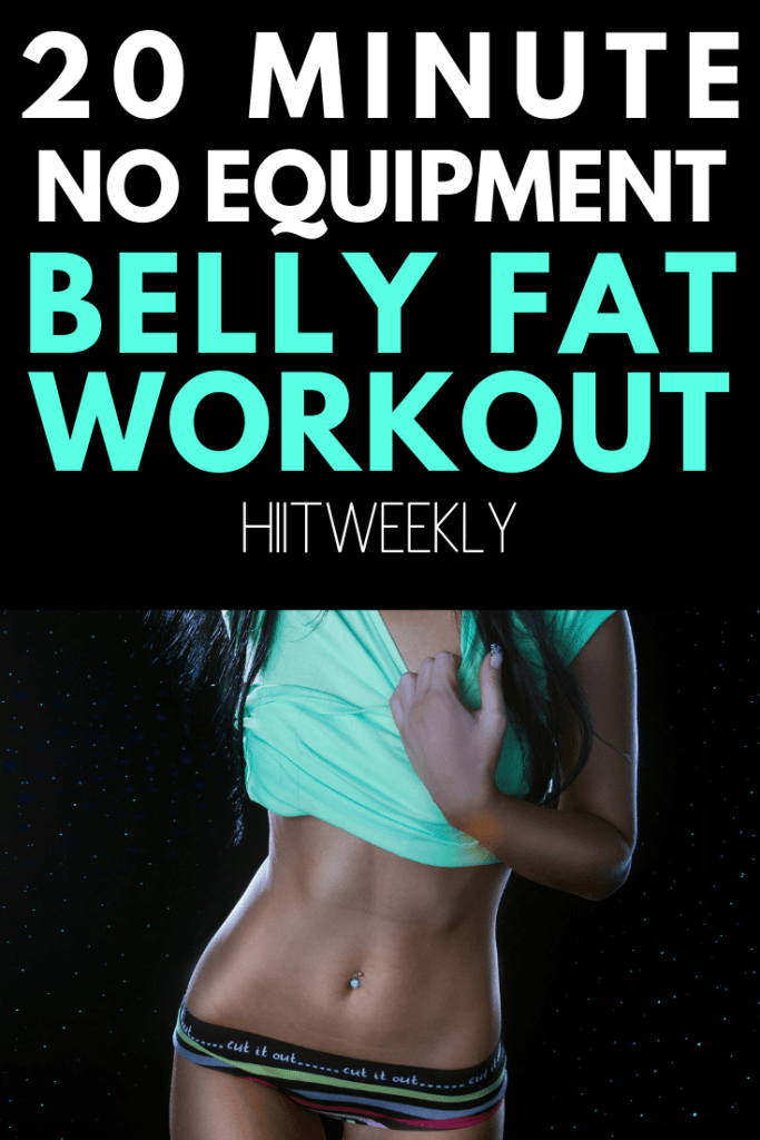 The best at home workout for belly fat  to help you lose weight fast and get in great shape. . This quick workout will give you a nice flat stomach by working your full body from head to toe with absolutely no equipment!