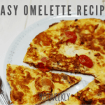 Make this quick and easy omelette recipe with mozzarella, tomatoes and onion. Omelettes make a great quick meal and is perfect if you are trying to lose weight. Perfect for breakfast lunch or dinner.