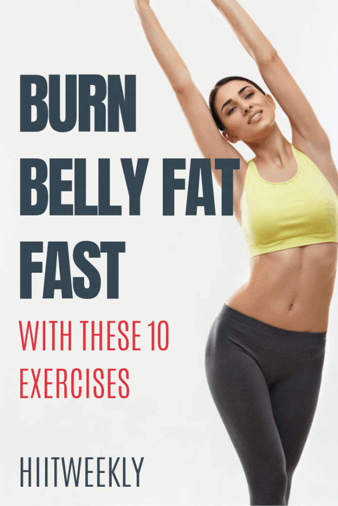 Exercises to lose belly fat fast: We all want to lose belly fat but are you wasting your time doing the wrong exercises? Discover the best weighted and bodyweight exercise to lose belly fat here.