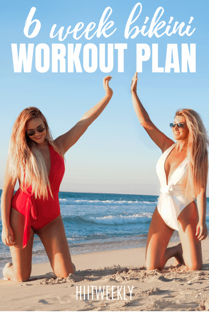 Holiday booked? Its time to get beach body ready so you can feel amazing when you put on that new bikini or swimsuit. Start with our 6 week bikini body workout plan complete with starter diet plan and exercise plans.